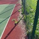 Oczyszczanie obrzeży boiska